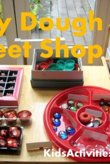 play dough sweet shop