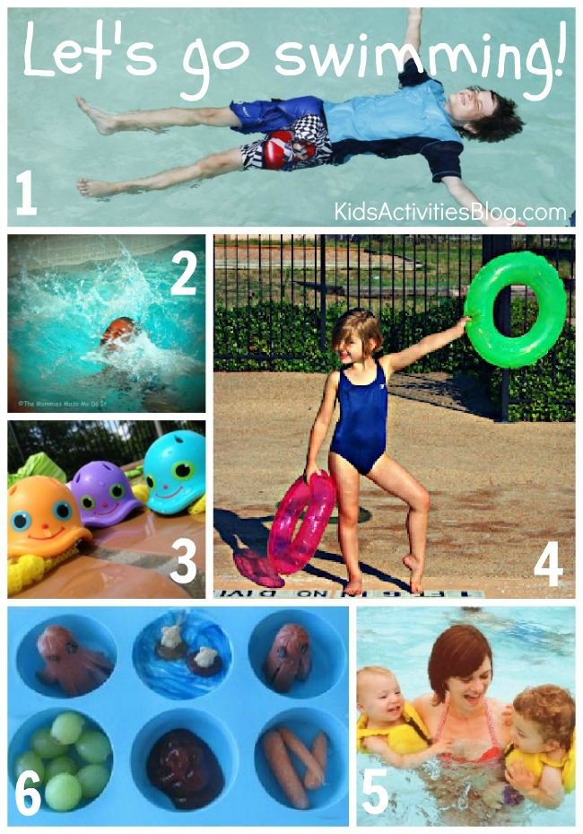 Let's Go Swimming Activities for kids
