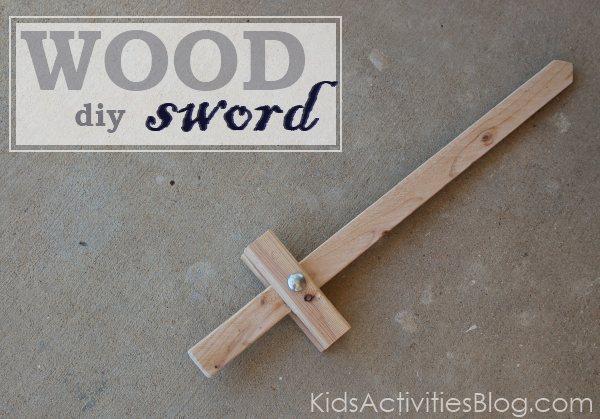 Fabriquer une épée de pirate