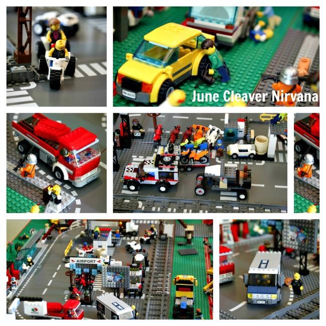 Lego city by Rhett