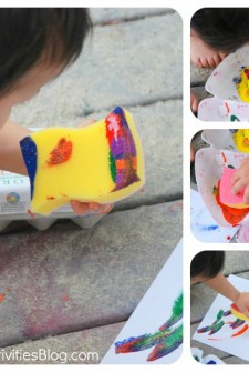 Art For Kids: Sponge Painting