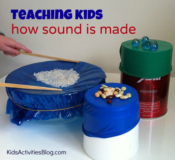 Stem School Drums: Back To School: Sound Experiments For Kids