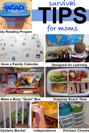 Survival Tips for moms