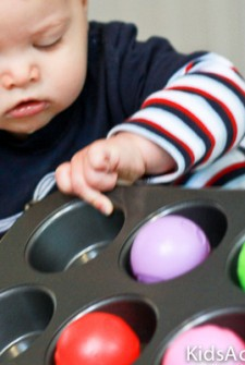 Games for Baby: Muffin Tin Fun
