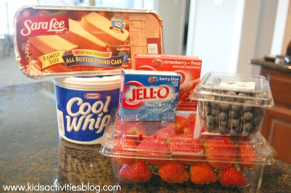fourth of july dessert trifle ingredients