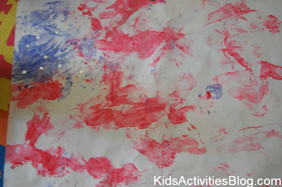 fourth of july flag craft