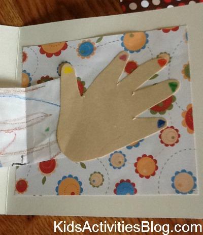 hand shape on card