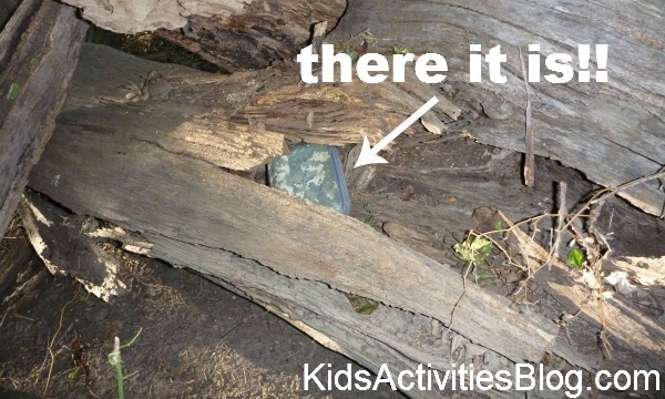 hidden box in log