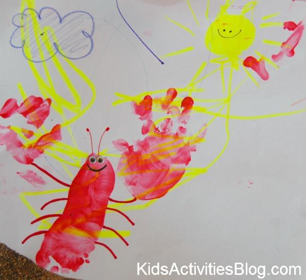 Handprint And Footprint Lobsters