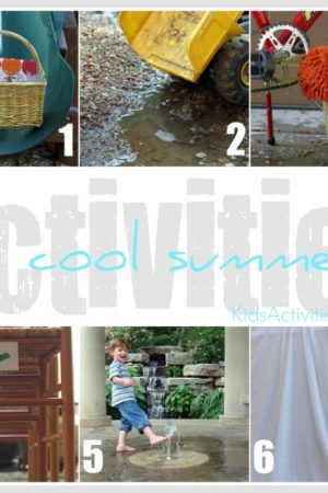 6 cool summer activities from kids activities blog
