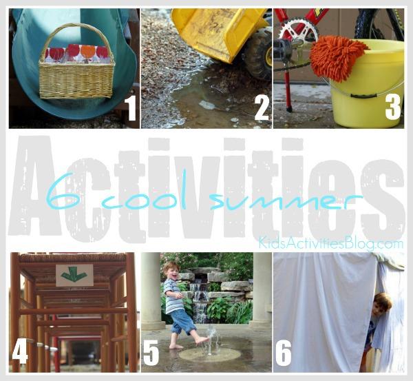 6 cool summer activities from kids activities blog