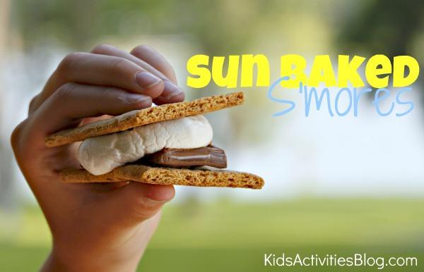 sun baked smores