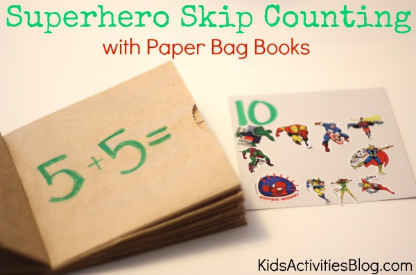 superhero skip counting
