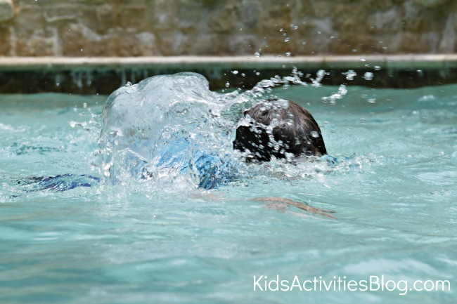 swimming activities for kids
