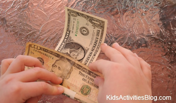 unrolling money