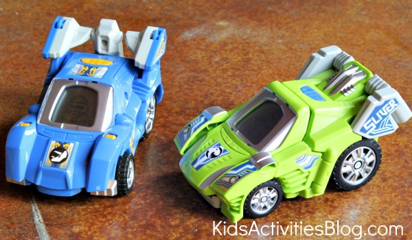 Vtech Switch and Go Dinos as cars