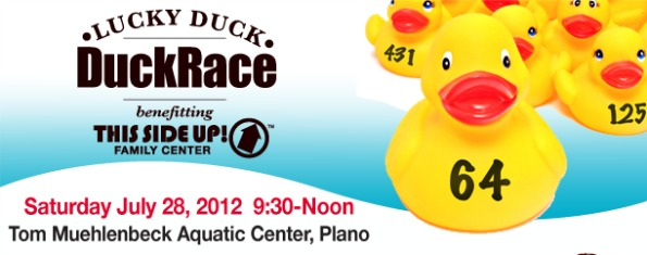 This side up duck race
