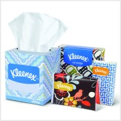 Kleenex photo  button 175