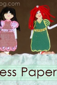 Be a Princess: Make Paper Dolls