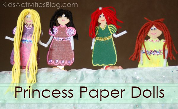 Princess paper dolls