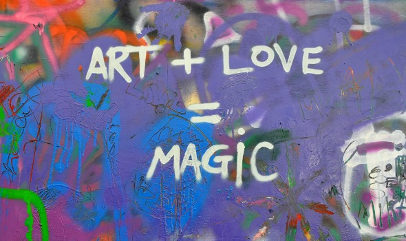 art plus love equals magic