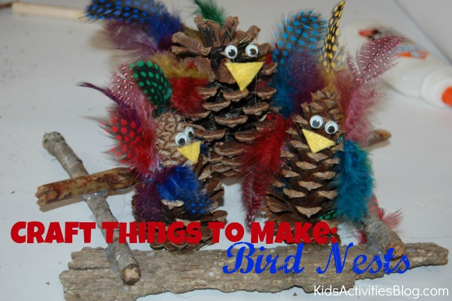 craft things to make bird nests
