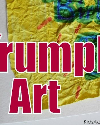 crumple art