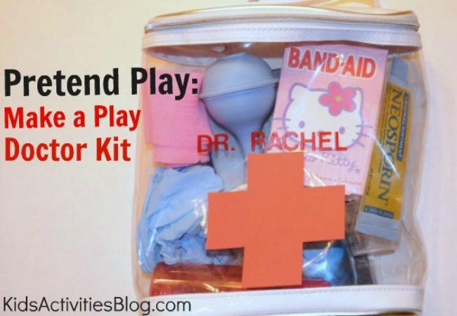 Pretend Play Make A Play Doctor S Kit