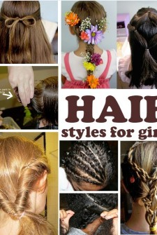 ideas of hairstyles for girls