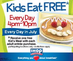 Kids Eat Free Vacation