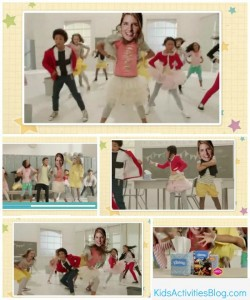 kleenex dance collage with Holly kab