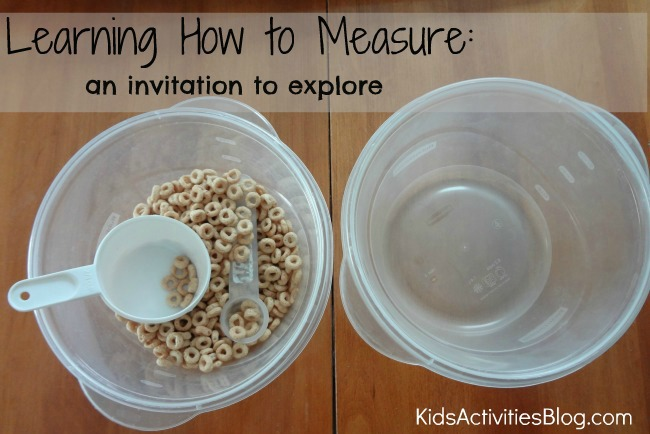 learning how to measure