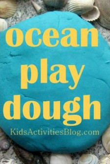 ocean play dough feature