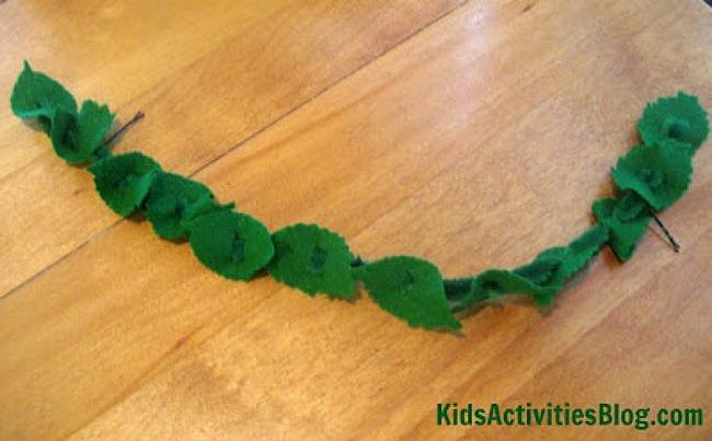 olympic laurel wreath craft