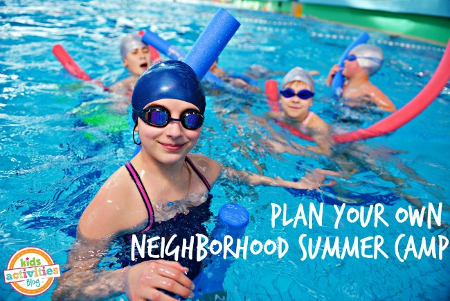 plan your own neighborhood summer day camp