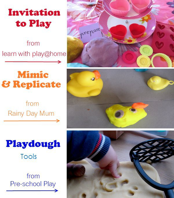 playdough activity ideas