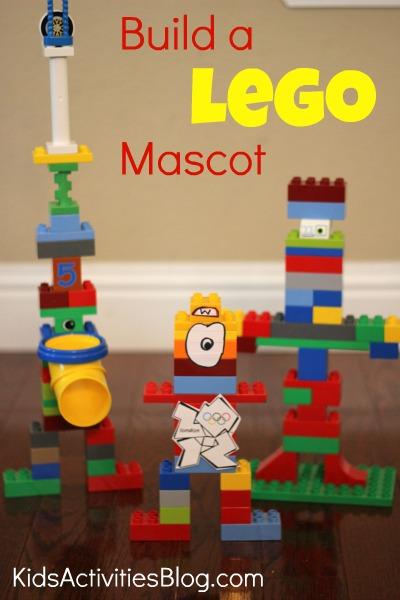 Olympics for Kids: Build a Lego Mascot