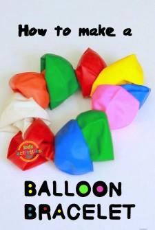 Balloons: Make a Bracelet