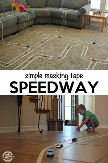 Build a Track with Masking Tape