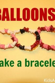 balloons make a bracelet