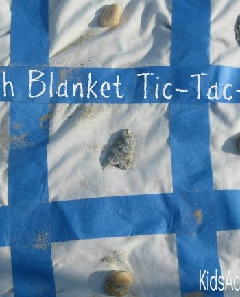 beach blanket tic tac toe feature