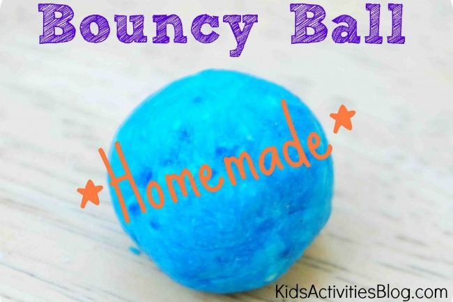 diy for kids make a bouncy ball