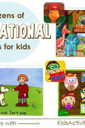 dozens of educational apps