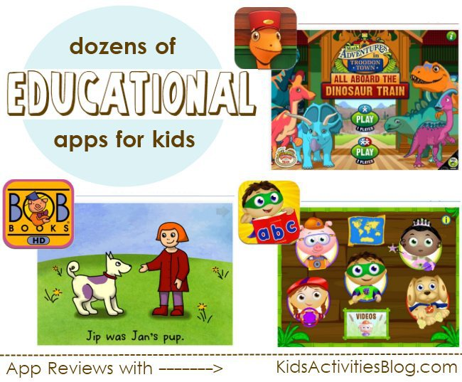 dozens of educational apps