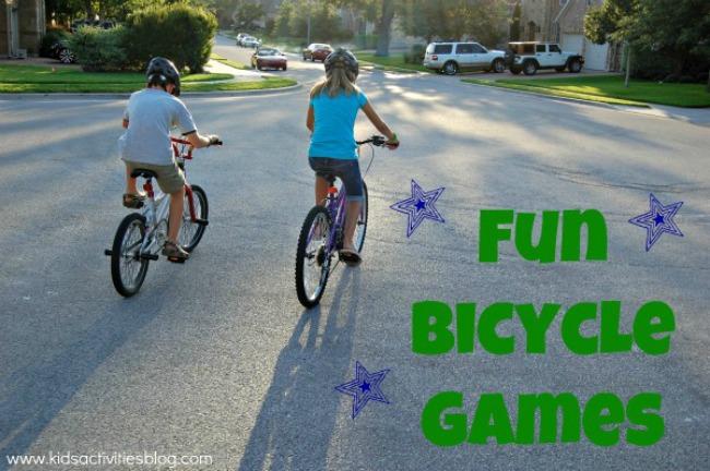 fun bicycle games