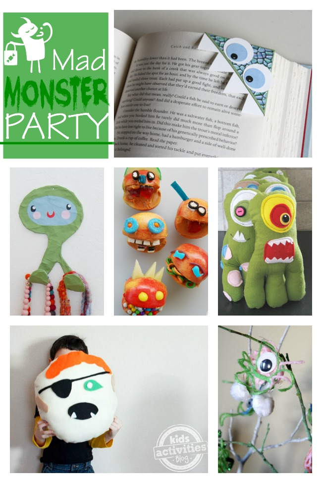 These are adorable ways to make monsters - my kids love #2!