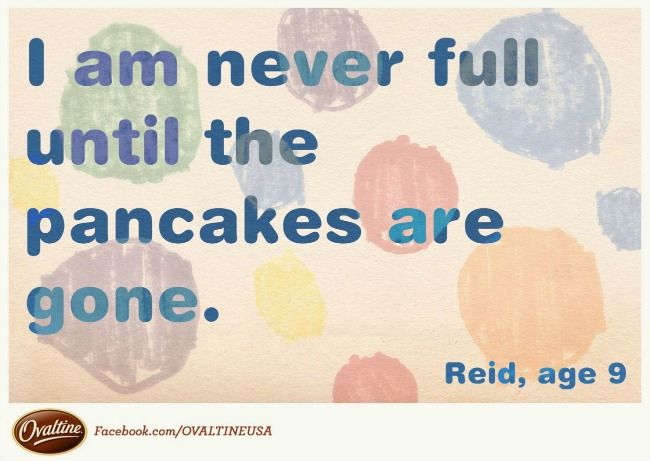 never full until the pancakes are gone quotagraph