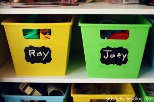 organize child toys