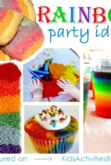 Coloring the Rainbow: A collection of Colorful Party Ideas