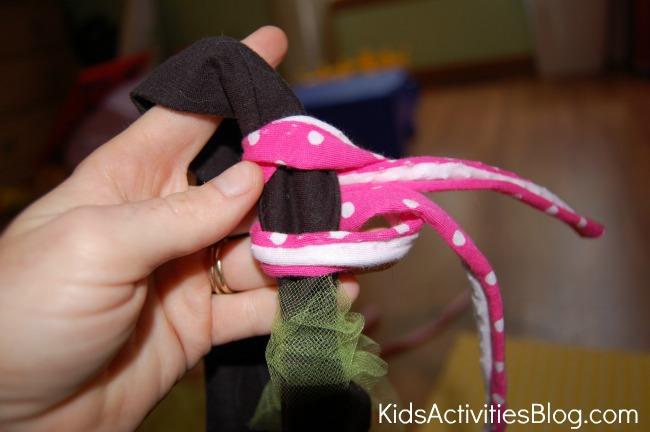 slip knot for tutu